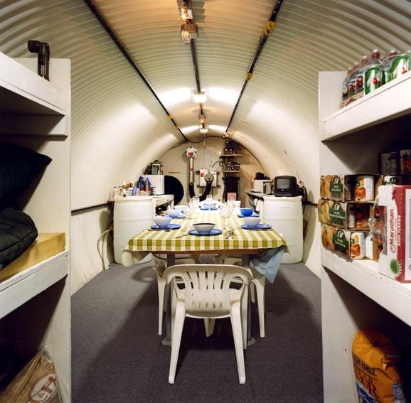 Dinner in Bunker