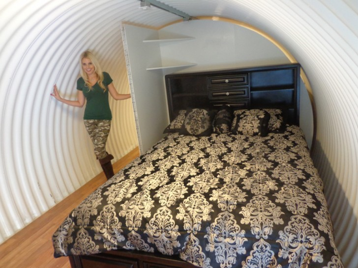 Bunker with Bed