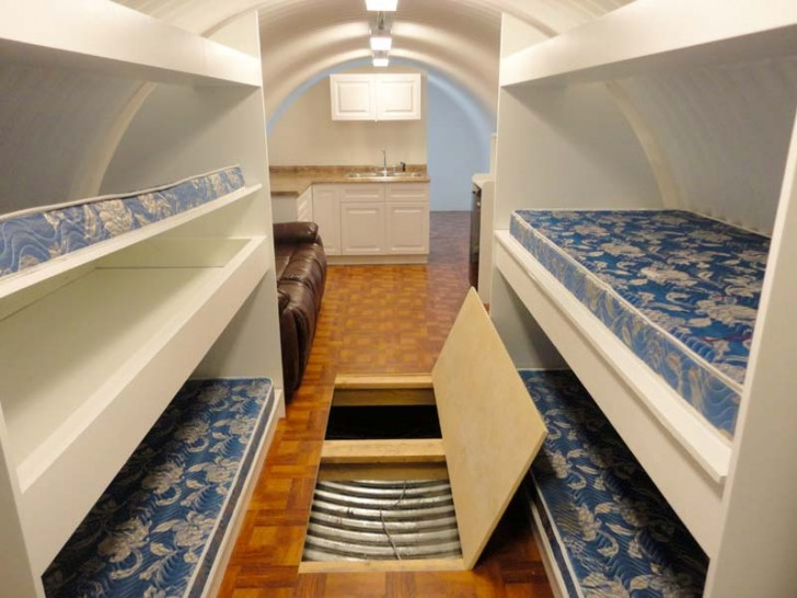 Bunker with Bunk Beds