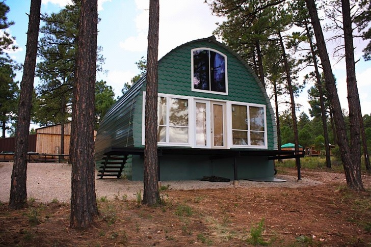 13 Awesome Photos Cheap Diy Off Grid Cabin
