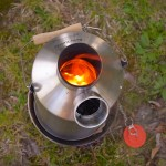 Cook and Boil Water Simultaneously with the Kelly Kettle Basecamp Outdoor Stove