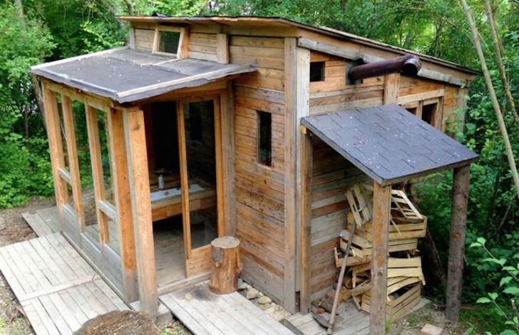 Pallet Cabin 14