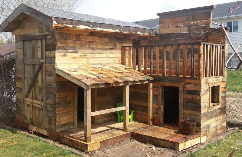20 awesome ideas for your pallet house or shelter for How to buy a house cheap