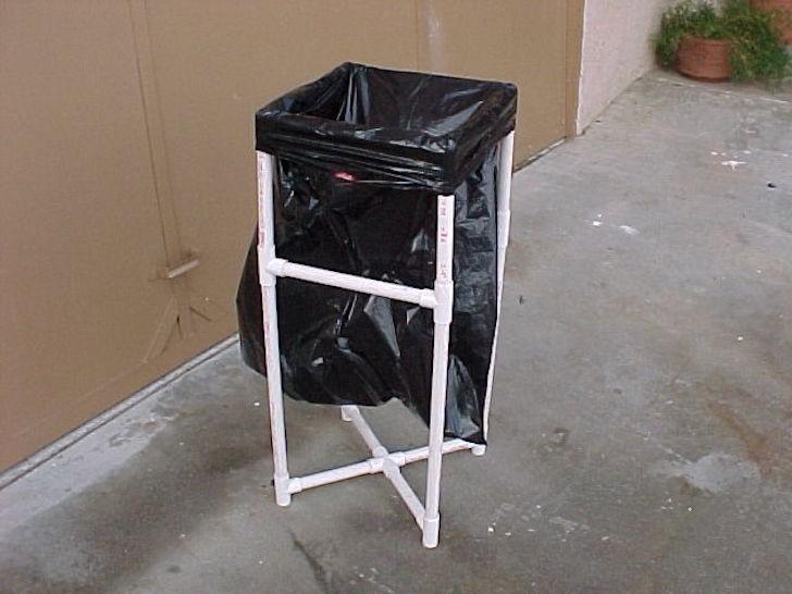 pvc-trash-can