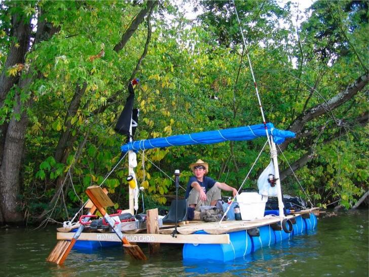 55 Gallon Drum Boat