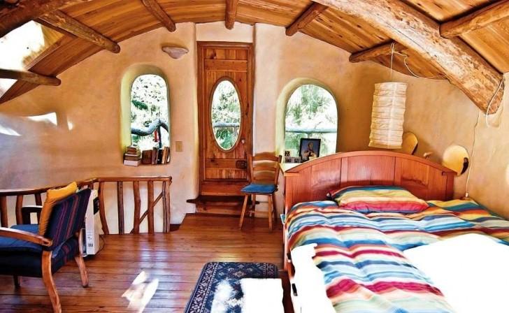 Cob Home Bedroom