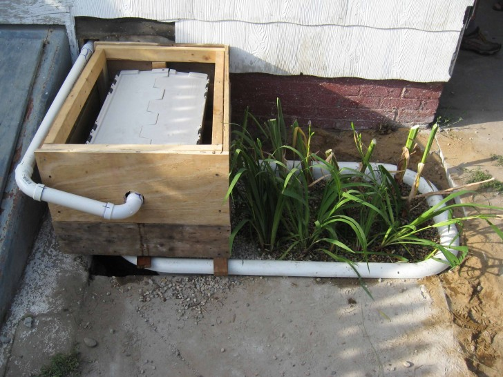 Cold Climate Grey Water Treatment