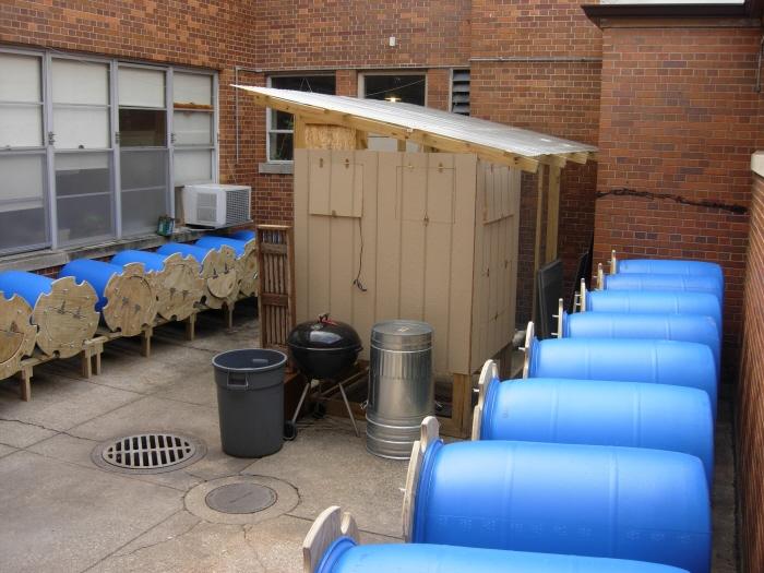 55 Gallon Drum Compost Barrels