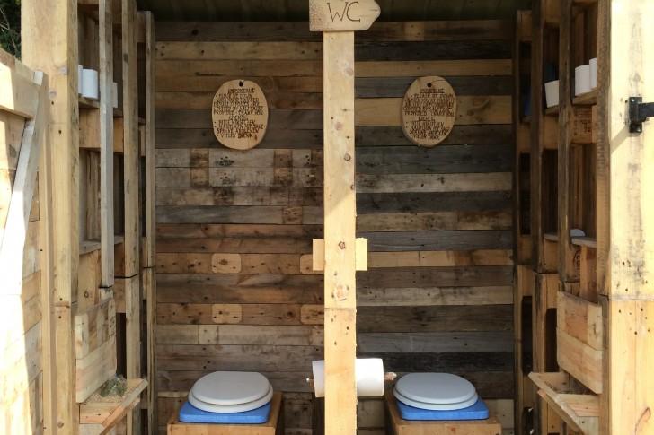 Toilet Pallet Project