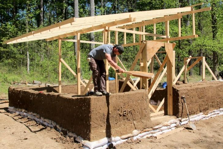 Constructing a Cob Home