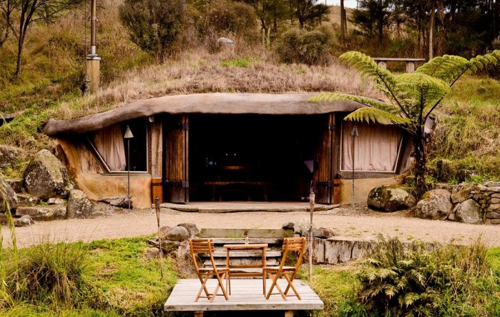 Eco Cave Hobbit Home