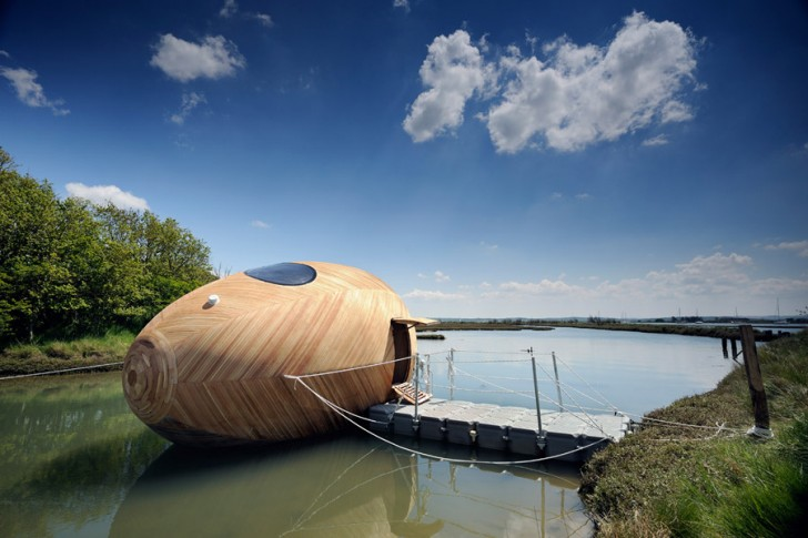 Tiny Home Floating Egg