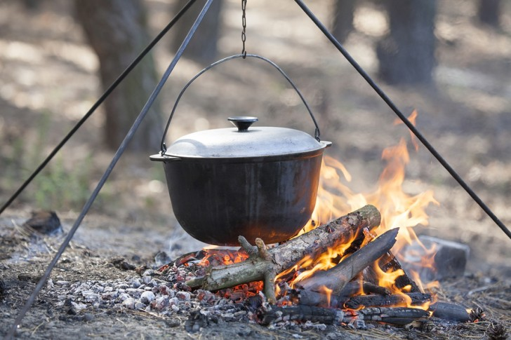 Camping Survival Food