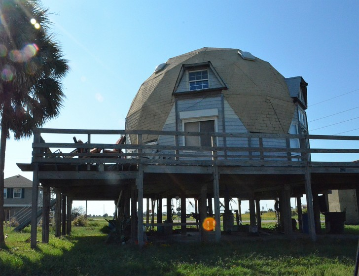 Geodesic Dome on Coast