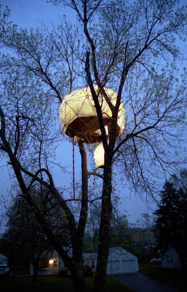 Geodesic Treehouse Dome