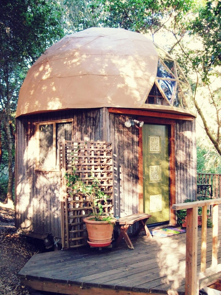 Tiny House with Geodesic Roof