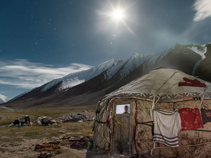 Yurt in the Mountains