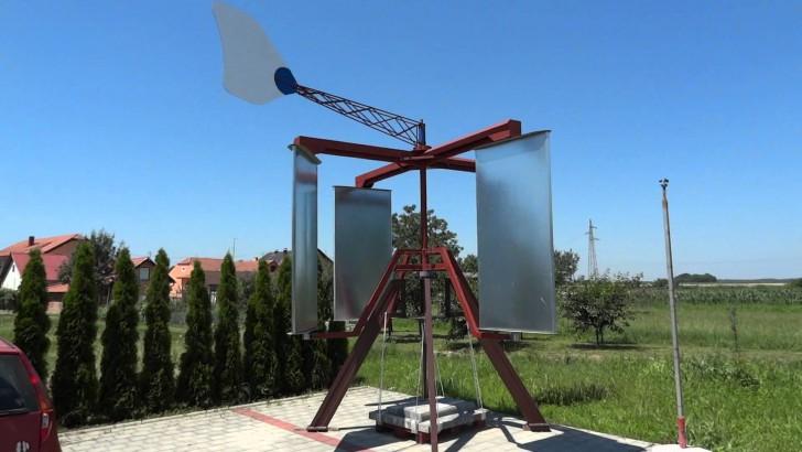 Vertical Axis Wind Turbine Low Speed