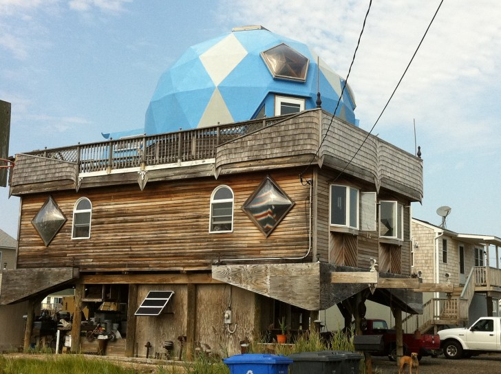 Geodesic Dome Rec Room