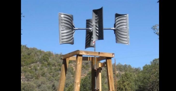 Snow Shovel Wind Turbine