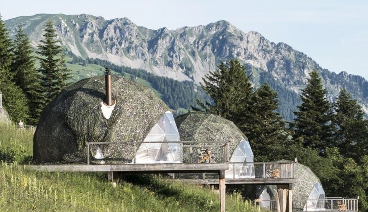 Geodesic Domes in the Alps