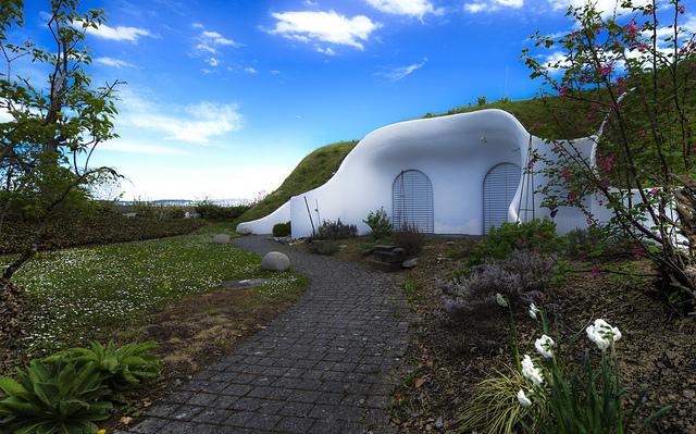 Modern Hobbit Home