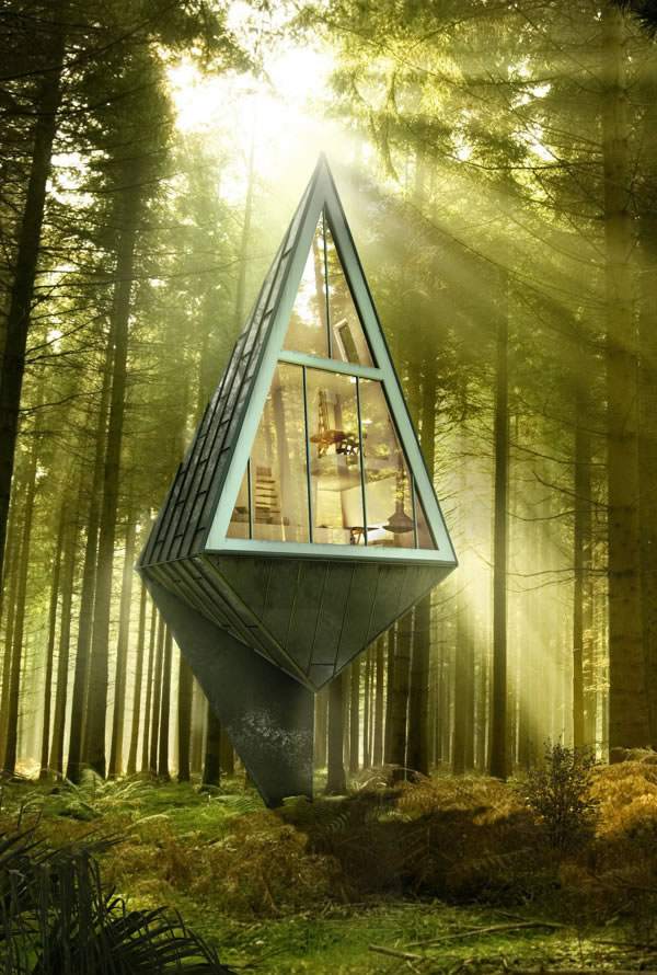 Futuristic Tiny Home