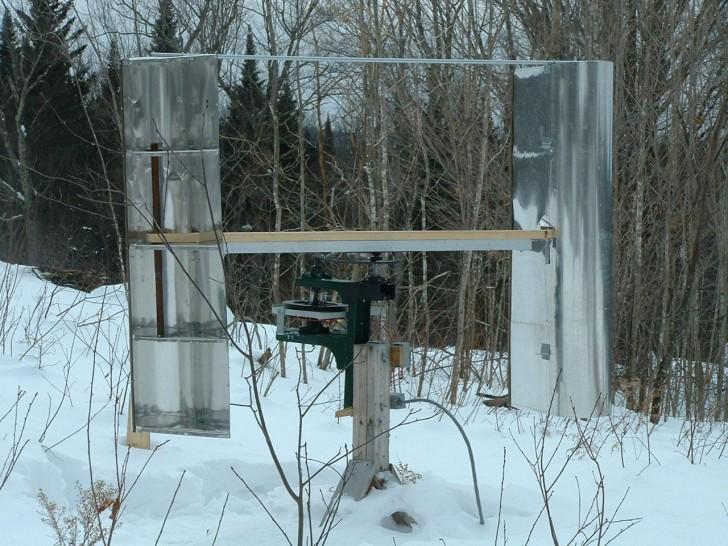 DIY Vertical Axis Wind Turbine