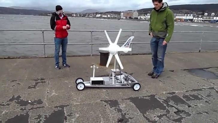 Wind Turbine Car