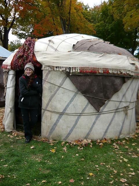 Yurt Made of Wool