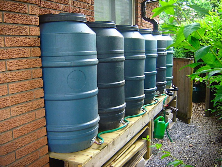 Rain water collection system for Build your own rain collection system