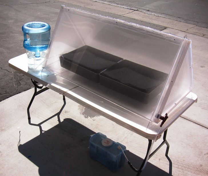 Building A Water Distiller ~ Solar water still