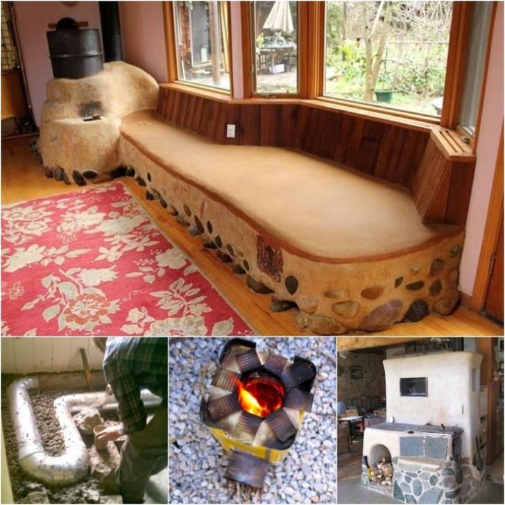 Rocket Stove Bed