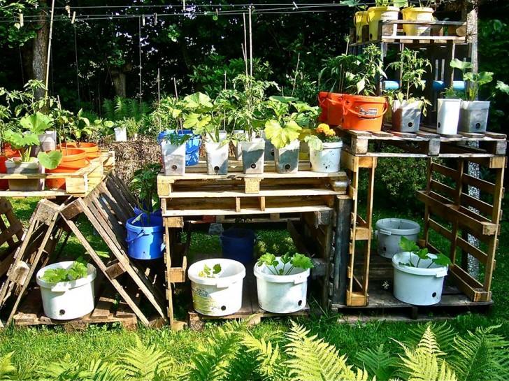 Simplest Pallet Project Garden