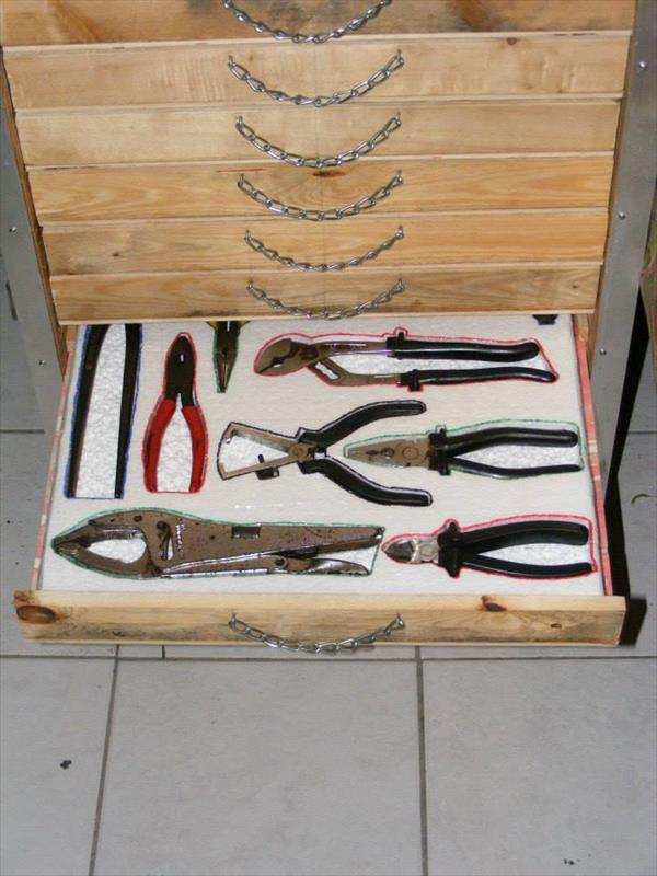 Pallet Project Tool Box